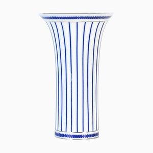 Vintage Porcelain Striped Vase by Royal Bonn