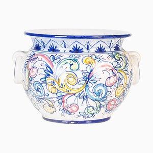 Vintage Keramik Übertopf von Cer.Italia