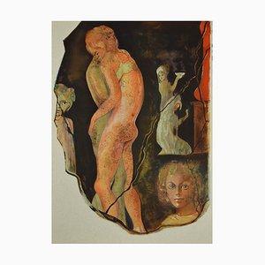 Leonor Fini, Satyricon, 1970, Lithograph