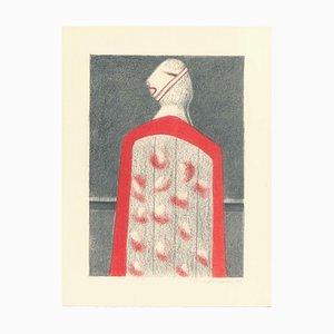 Alfonso Avanessian, Figure, 1989, Lithograph