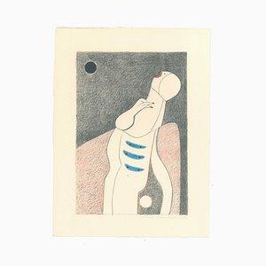 Alfonso Avanessian, The Scream, 1989, Lithograph