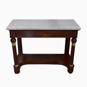 Empire Mahogany Console Table