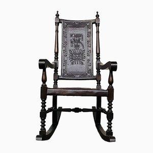 Mid-Century Rocking Chair by Angel I. Pazmino for Muebles de Estilo