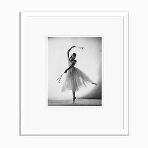 Alicia Markova Markova As Giselle Silver Gelatin Resin Print Framed In White by Baron