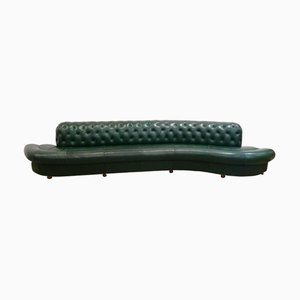 Curved Serpentine Sofa by Vladimir Kagan, 1970s