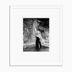 Anita Ekberg La Dolce Vita Archival Pigment Print Framed In White