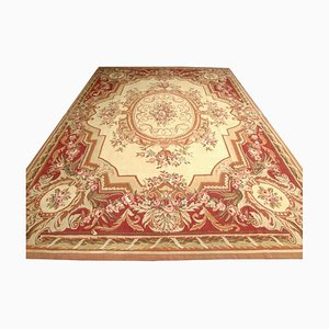 Vintage French Aubusson Rug, 1980s