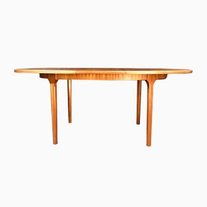 Mid-Century Teak Oval Extending Table by Tom Robertson for McIntosh, 1960s