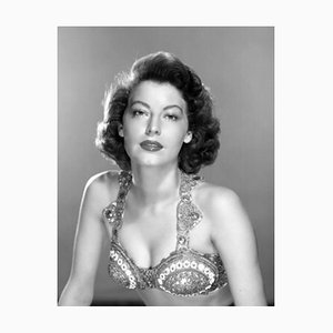 Glamorous Ava Archival Pigment Print Framed In Black by Everett Collection