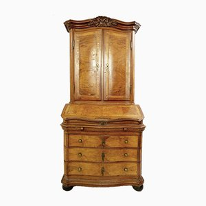 19th-German Buffet/Secretaire