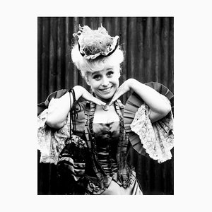 Barbara Windsor Cockney Queen Archival Pigment Print Framed In White by Everett Collection