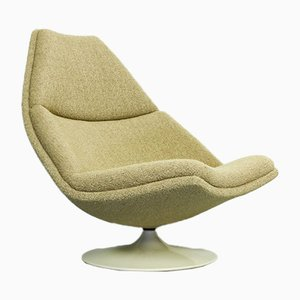 Mid-Century Model F590 Lounge Chair by Geoffrey Harcourt for Artifort