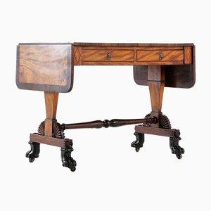 Regency Satinwood and Rosewood Sofa Table