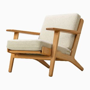 GE-290 Easy Chair by Hans J. Wegner for Getama