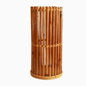 Mid-Century Cestello Bambus Schirmständer, 1960er