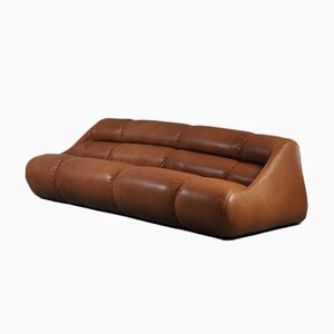 Leather Ciuingam Sofa by De Pas, D'Urbino and Lomazzi for B&B Italia / C&B Italia, 1967