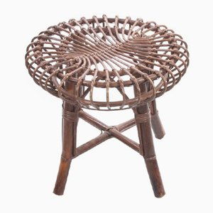 Bamboo Stool or Side Table