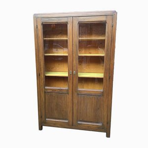 Mid-Century French Fir Bookcase, 1950s