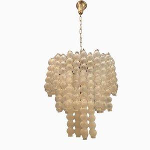 Mid-Century Murano Glass Bubble Chandelier