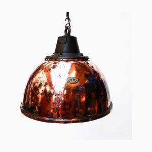 Copper Ceiling Lamp, 1950s