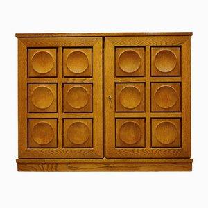 Brutalist Cabinet, 1970s