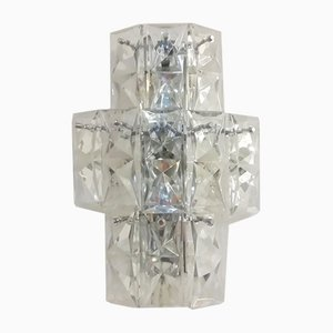 Light Glass Sconce from Kinkeldey, 1970s