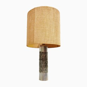 Brutalist Table Lamp by Willy Luyckx for Aluclair, 1970s