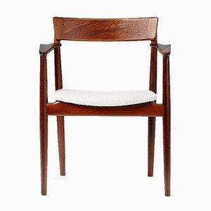 Rosewood Armchair by Henry Rosengren Hansen for Brande Møbelindustri, 1960s