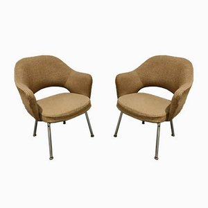 Executive Conference Armchairs by Eero Saarinen for Knoll Inc. / Knoll International, 1970s, Set of 2