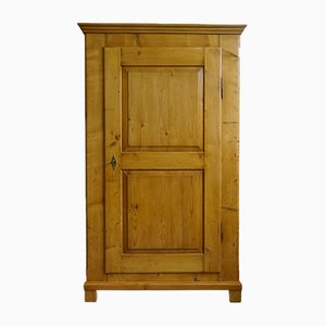 Antique Biedermeier Kitchen Cabinet or Linen Cabinet, 1830s