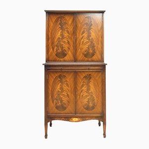Vintage Burr Walnut Cocktail Cabinet
