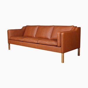 Mid-Century Model 2213 3-Seater Sofa by Børge Mogensen for Fredericia