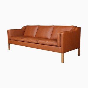 Sofá de tres plazas modelo 2213 Mid-Century de Børge Mogensen para Fredericia