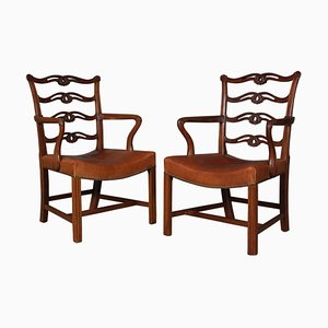 Chippendale Armchairs, Set of 2