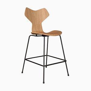 Sgabello da bar di Arne Jacobsen per Fritz Hansen