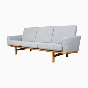 Mid-Century 3-Seater Sofa by Hans J. Wegner for Getama