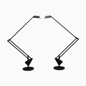 Lampes de Bureau Flamingo par Fridolin Naef pour Luxo, 1980s, Set de 2