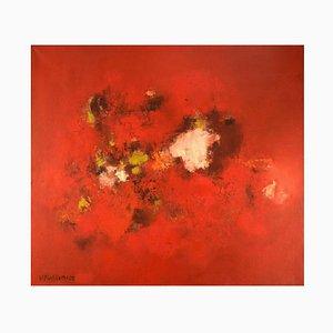 Veikko Kallinen, Abstract Composition, 1960s, Oil on Canvas