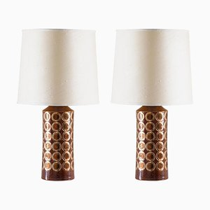 Table Lamps by Aldo Londi for Bitossi, 1960s, Set of 2