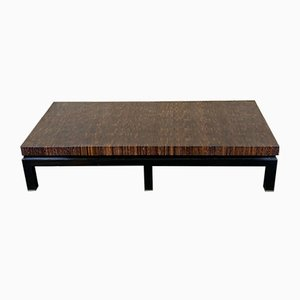 Rosewood Coffee Table from Guy Lefevre, 1960s