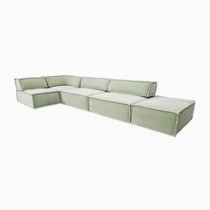 Trio Sofa in Light Green Mohair from Cor, 1970s