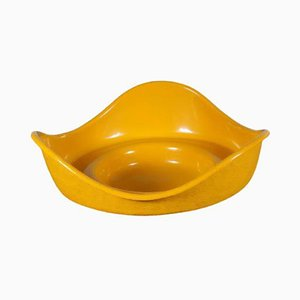 Yellow Fiberglass Rocking Object by Gunter Beltzig for Brüder Beltzig, 1960s