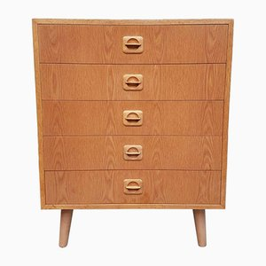 Mid-Century Danish Chest Of Drawers Scandinavian Retro