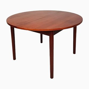 Mid-Century Round Oval Extending Dining Table from Dalescraft