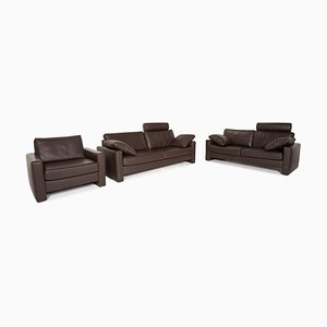 Leather Sofas from Ewald Schillig, Set of 3