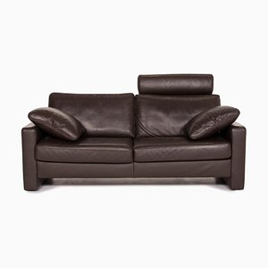 Leather Brown Sofa from Ewald Schillig