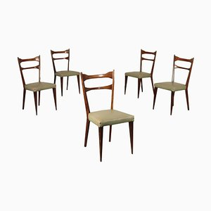 Dining Chairs, 1950s, Set of 5