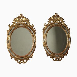 Rococo Style Mirrors, Set of 2