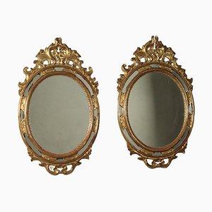 Specchi in stile rococò, set di 2