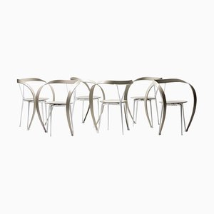 Reverse Chairs by Andrea Branzi for Cassina, 1990s, Set of 6